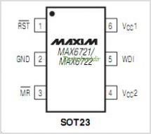 MAX6722 pinout,Pin out