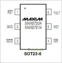 MAX6731A pinout,Pin out