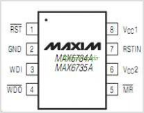 MAX6734A pinout,Pin out