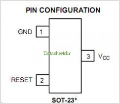 NCP803 pinout,Pin out