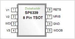 SP6339 pinout,Pin out