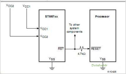 STM6717 circuits