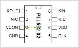 PLL502-02HSC-R pinout,Pin out
