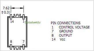 QCV20 pinout,Pin out