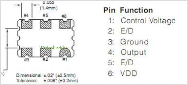 VKA61A2 pinout,Pin out