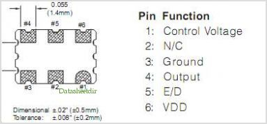VKA61A5 pinout,Pin out