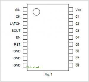BU2114 pinout,Pin out