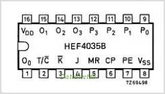 HEF4035B pinout,Pin out
