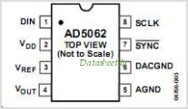 AD5062 pinout,Pin out