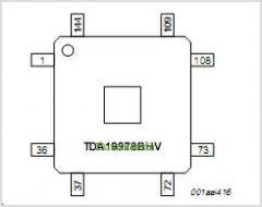 TDA19978B pinout,Pin out