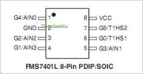 FMS7401 pinout,Pin out