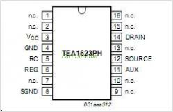 TEA1623P pinout,Pin out