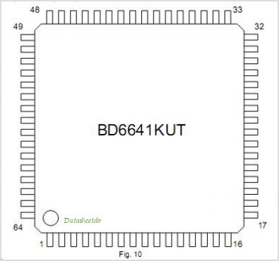 BD6641KUT pinout,Pin out