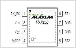 MAX256 pinout,Pin out