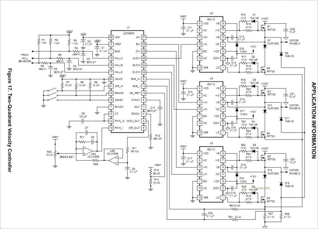 Linear Brushless Motor Controller Schematic Wire Data Schema 3 Phase Dc Diagram Wiring Circuit Control