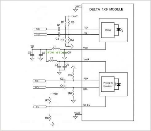 This is one application circuit of OPT-1250B1F1DT,If you need more circuits,please download