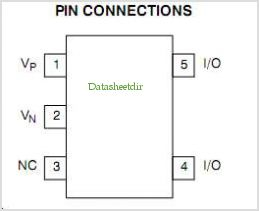 NUP2114UPXV5 pinout,Pin out