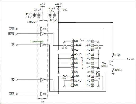 UPD3734A circuits
