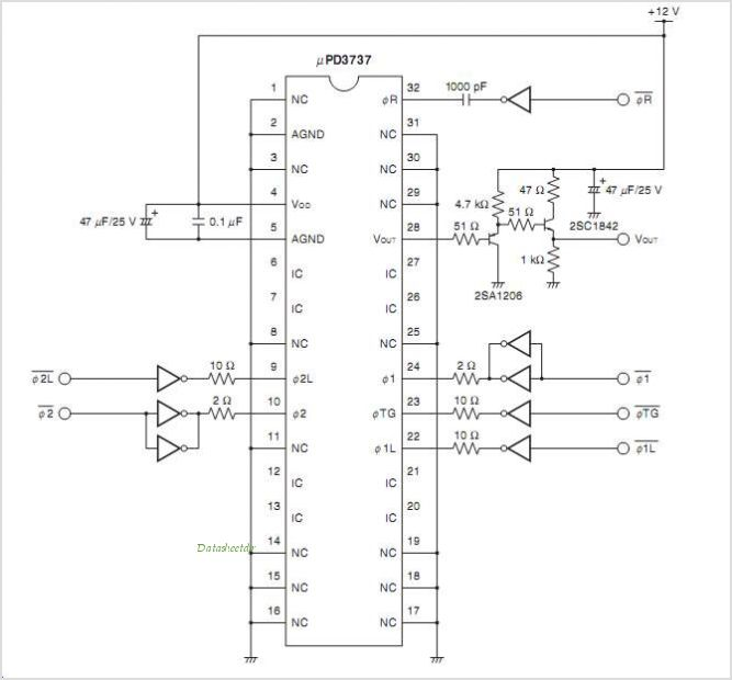 UPD3737 circuits