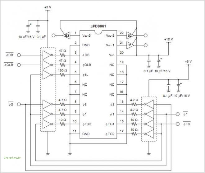 UPD8861 circuits