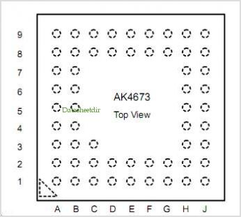 AKD4673 pinout,Pin out