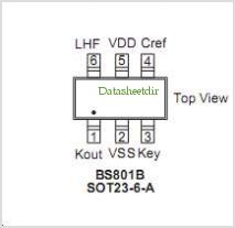 BS802B pinout,Pin out