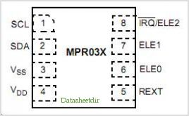 MPR031EPR2 pinout,Pin out