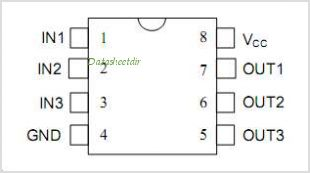 DS1135 pinout,Pin out