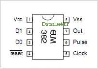 ELM382DS pinout,Pin out