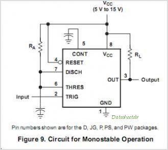 NE555D circuits
