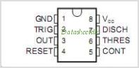 NE555D pinout,Pin out