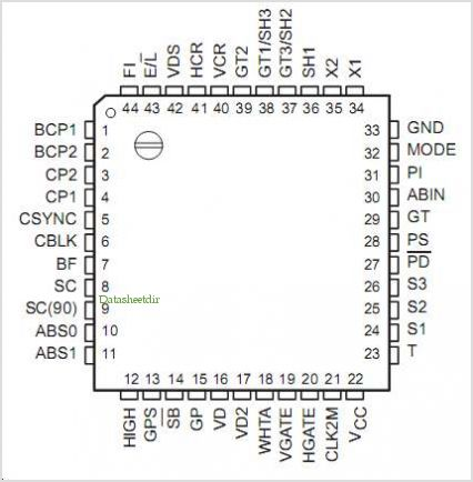 SN28835 pinout,Pin out