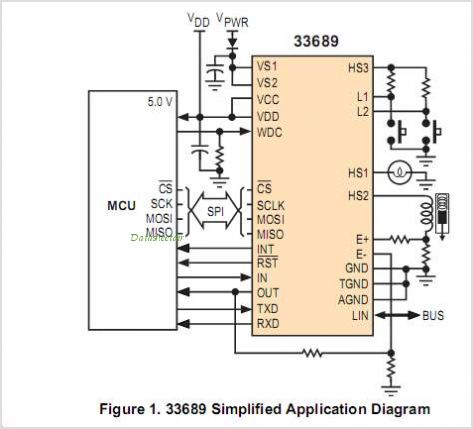 MC33689DDWBR2 circuits