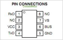 NCV7380 pinout,Pin out