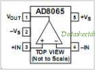 AD8065AR-REEL7 pinout,Pin out