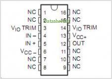 LT1007MJG pinout,Pin out