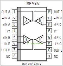 LT1058 pinout,Pin out