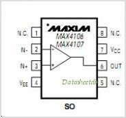 MAX4106ESAT pinout,Pin out