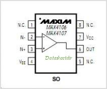 MAX4107C-D pinout,Pin out