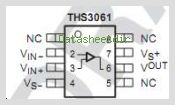 THS3061 pinout,Pin out