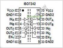 ISO7242A pinout,Pin out