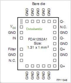 FOA1252A1 pinout,Pin out