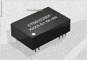 CTDD3220DF-2405-D1.5K-3W pinout,Pin out