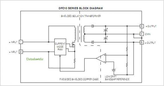 DFC10U24D5 pinout,Pin out