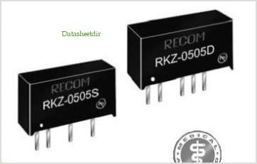 RKZ-0505S pinout,Pin out