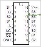 TS5N118 pinout,Pin out