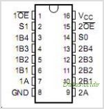 TS5N214 pinout,Pin out