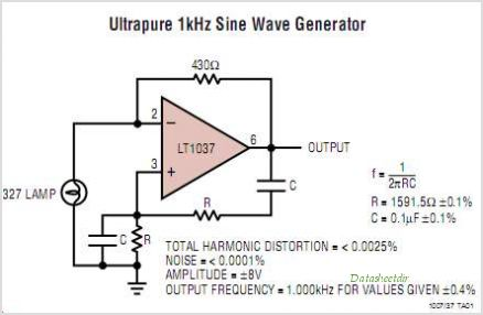 LT1007CS8 circuits