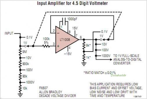 LT1008IN8-PBF circuits