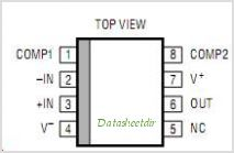 LT1008IN8-PBF pinout,Pin out